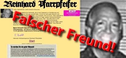 Reinhard Pfarrpfeifer , ein unredlicher Lump