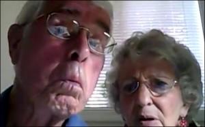 Alte Ehepaare sind besonders glücklich