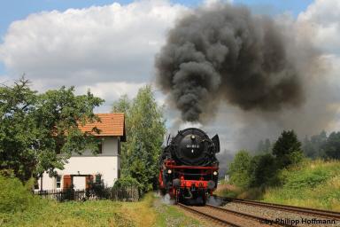 Schöne alte Dampflokomotive