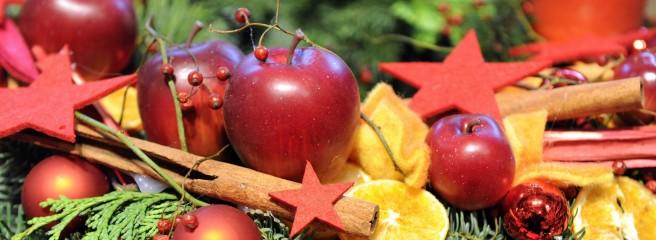 Weihnachtsäpfel