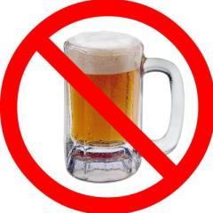 Bierverbot und Alkoholverbot